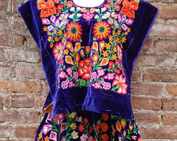mexican clothing etsy