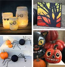 home made halloween decorations easy halloween crafts for adults 28 homemade halloween decorations
