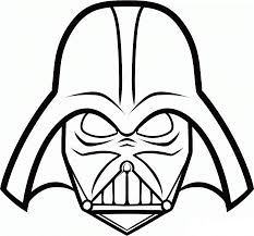 coloring pages darth vader coloring home