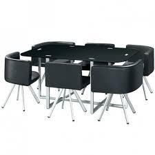 table avec chaise encastrable table de cuisine carree table de cuisine avec chaise encastrable