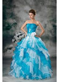 colorful wedding dresses gown organza floor length strapless colorful wedding dress