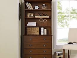 Lateral Filing Cabinets Wood by Decor 37 Decorative File Cabinet At Corner Room Rustic Brown