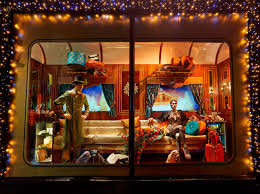 Christmas Window Decorations New York by Worlds Best Harrods London Christmas Window Displays Designer