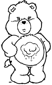 coloring page breathtaking care bears coloring page 20 care