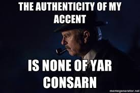 Accent Meme - chief inspector cbell meme is none of your concern peakyblinders