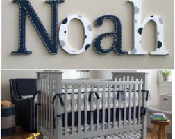 Decorating Wooden Letters For Nursery Nursery Decor Nursery Wall Decor Nursery Letters Baby Boy