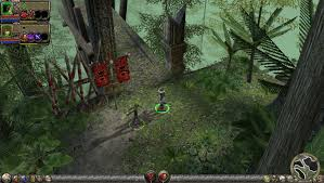 dungeon siege 2 started dungeon siege 2 and decided to check my framerate
