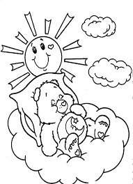 care bears sweet dreams coloring pages place color
