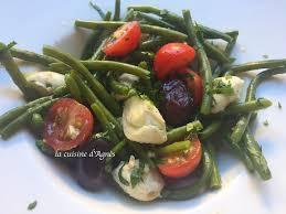 cuisiner des haricots verts frais salade de haricots verts frais à l ail nouveau la cuisine d