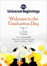 attractive graduation day invitation card 50 in designs for