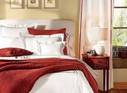 White Bedding Decor Ideas Red And White Bedroom Ideas Rdcny