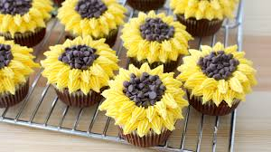bouquet of sunflowers sunflower cupcakes recipe tastemade