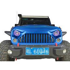 rubicon jeep blue hydro blue bj pbj front gladiator grille for jeep wrangler jk