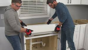how to install farmhouse sink in base cabinet how to install a farmhouse sink
