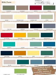 miss mustard seed milk paint color chart google search