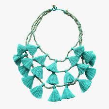 tassel necklace images Gia turquoise tassel necklace shop bluma project dear keaton jpg
