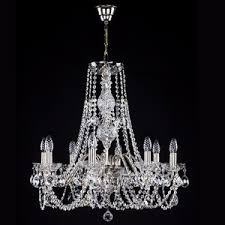 Czech Crystal Chandeliers Crystal Chandeliers With Metal Arms Artglass Cz