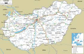 Map Of Budapest Detailed Clear Large Road Map Of Hungary Ezilon Maps