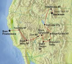 grand national park map usa national parks holidays tours usa national parks tours