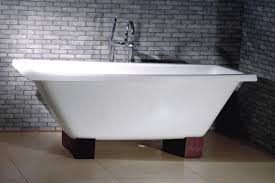Enameled Steel Bathtubs Bathroom Remodel Stainless Steel Cast Iron Clawfoot Tub Beautify