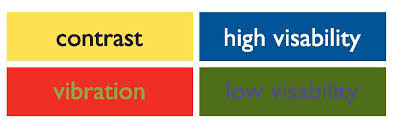 two color combinations tasmanian government communications design and colour