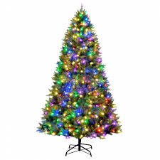 9 u0027 800 multi color c3 led light indoor christmas tree shop your