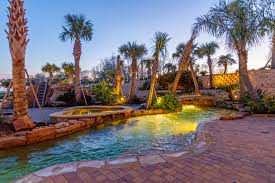 Pools For A Small Backyard by Backyard Amenities Houston Pool Builder In Ground Custom Pool