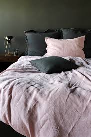 lisbon soft linen duvet cover grey super king from rockett st