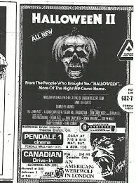 halloween 2 an american werewolf in london 1981 newspaper ad