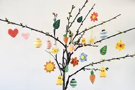 easter ornaments crochet pattern easter ornaments flying dutchman crochet design