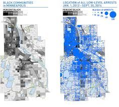 Minneapolis Zip Code Map by Picking Up The Pieces American Civil Liberties Union