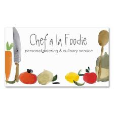 Catering Calling Card Design 81 Best Chef Images On Pinterest Business Card Design Business