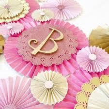wedding backdrop etsy paper rosettes pink rosettes gold from poshsoiree on etsy