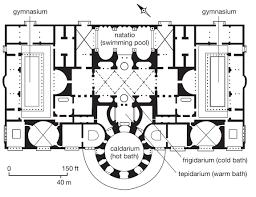 baths of caracalla floor plan roman baths floor plan google search history pinterest bath