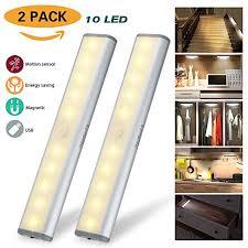 motion sensor under cabinet lighting motion sensor under cabinet light wardrobe light usb rechargeable 10