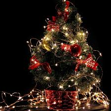 christmas best way to string lights on christmas tree how