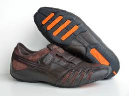 leather bike shoes tennis puma new puma vedano v leather men u0027s shoes coffee brown
