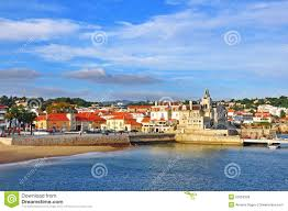Cascais Portugal Map Cascais Old Town Portugal Editorial Stock Image Image 53053329