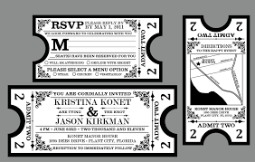 ticket wedding invitations awe inspiring ticket wedding invitations theruntime