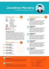 Colourful Resume Templates Contoh Curriculum Vitae Tampilan Cantik Menarik Dan Sederhana