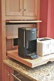 Kitchen Cabinets Frederick Md Architecture Cool Black Coffee Maker And White Toaster On Wooden