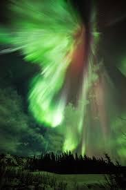 st patrick u0027s day green aurora nasa