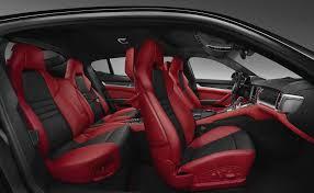porsche red interior black panamera red interior brokeasshome com