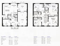 4 bed 3 bath house floor plans home design ideas bedroom 2 story