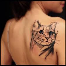 16 majestic cat tattoos for cat lovers