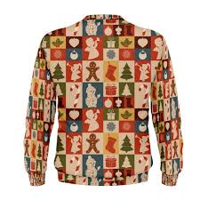 ugly christmas sweater iconic silhouettes lawleypop merch