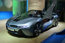 bmw concept i8 bmw i8 spyder concept revealed news motor show auto express