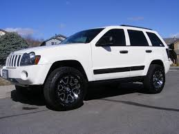 white jeep grand cherokee custom 1oneseven7 2006 jeep grand cherokee specs photos modification
