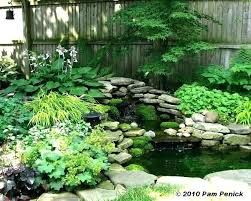 Shady Garden Ideas Excellent Small Shade Gardens Images Landscaping Ideas For