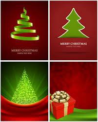modern christmas cards modern christmas tree backgrounds vector vector graphics